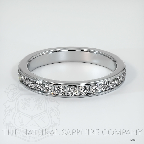 Channel Set Diamond Eternity Wedding Band JB226 Image
