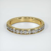 14K Yellow Gold Gemstone Band - JB226Y14