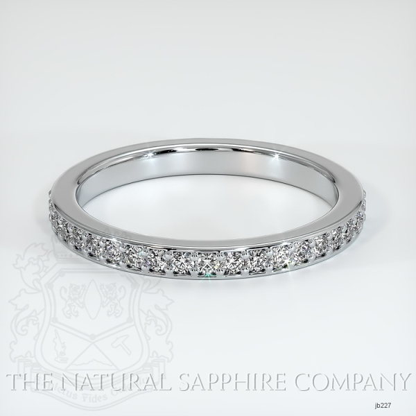 Half Way Diamond Wedding Band JB227 Image