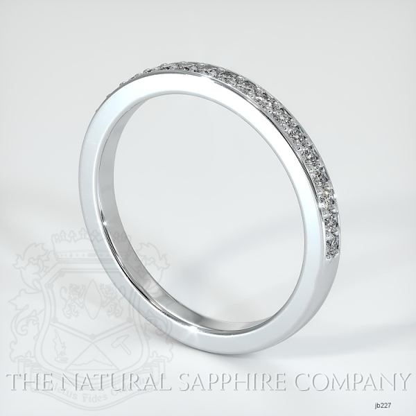 Half Way Diamond Wedding Band JB227 Image 2