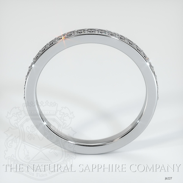 Half Way Diamond Wedding Band JB227 Image 3