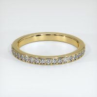 14K Yellow Gold Gemstone Band - JB227Y14