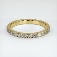 18K Yellow Gold Gemstone Band - JB227Y18
