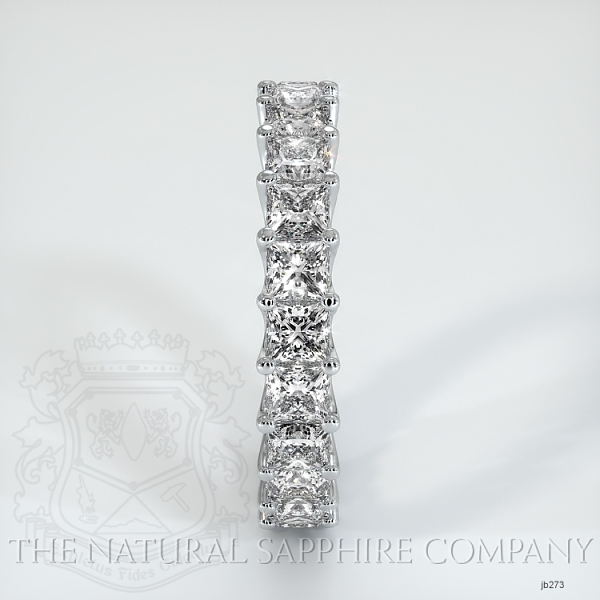Princess Cut Loop Diamond Eternity Wedding Band JB273 Image 4