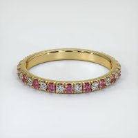 14K Yellow Gold Gemstone Band - JB290Y14