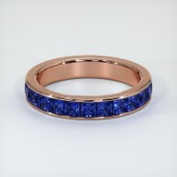 14K Rose Gold Gemstone Band - JB312R14