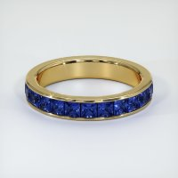 18K Yellow Gold Gemstone Band - JB312Y18