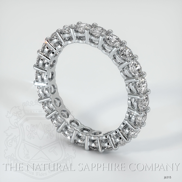Prong Set Diamond Eternity Wedding Band JB315 Image 2