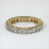 18K Yellow Gold Gemstone Band - JB315Y18