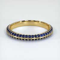 14K Yellow Gold Gemstone Band - JB326Y14