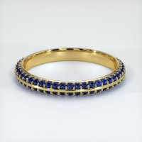 18K Yellow Gold Gemstone Band - JB326Y18