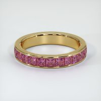 14K Yellow Gold Gemstone Band - JB347Y14