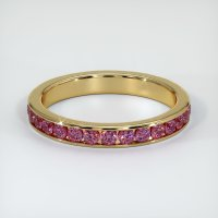 14K Yellow Gold Gemstone Band - JB353Y14