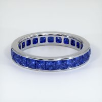 Platinum 950 Gemstone Band - JB356PT