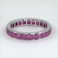 Platinum 950 Gemstone Band - JB359PT