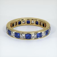 14K Yellow Gold Gemstone Band - JB364Y14