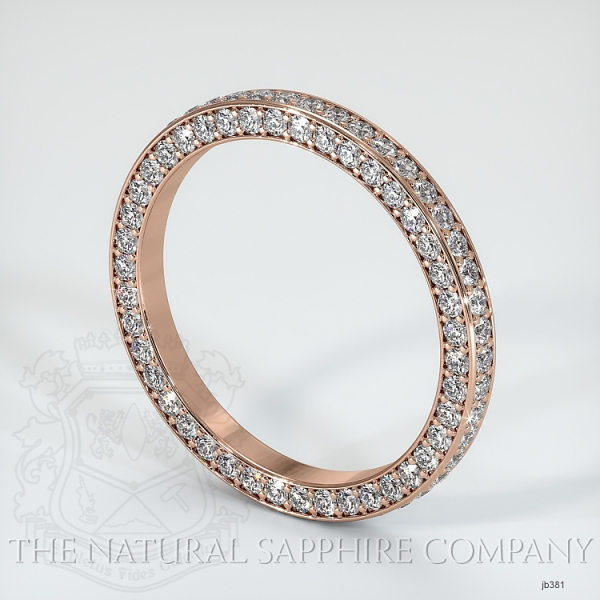 Diamond wedding Band JB381 Image 2