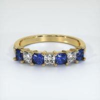 14K Yellow Gold Gemstone Band - JB387Y14