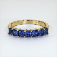 14K Yellow Gold Gemstone Band - JB392Y14