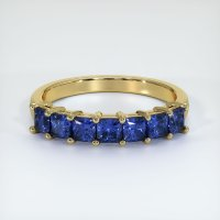 18K Yellow Gold Gemstone Band - JB392Y18