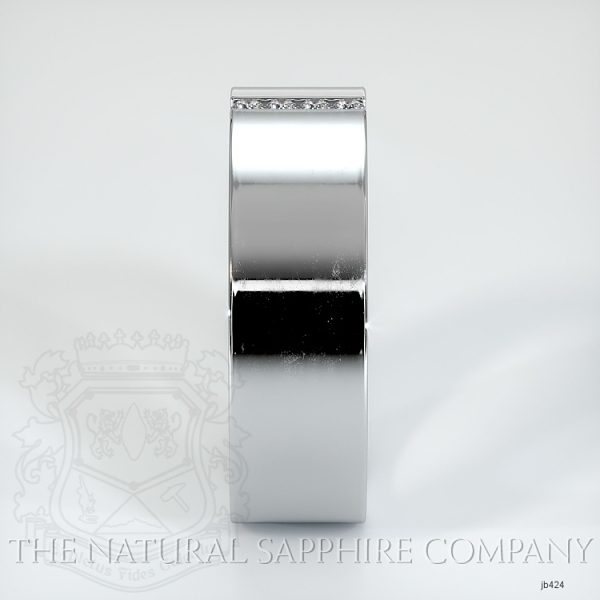 Bezel Set Diamond Wedding Band JB424 Image 4