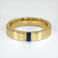 18K Yellow Gold Gemstone Band - JB446Y18