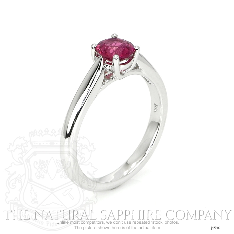 0.86ct Ruby Ring Image 2