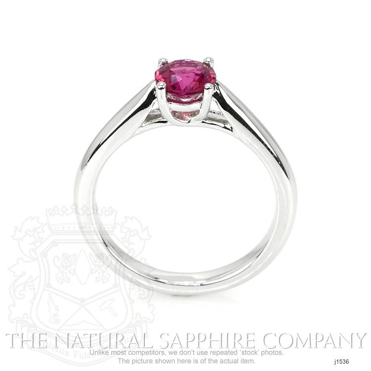 0.86ct Ruby Ring Image 4