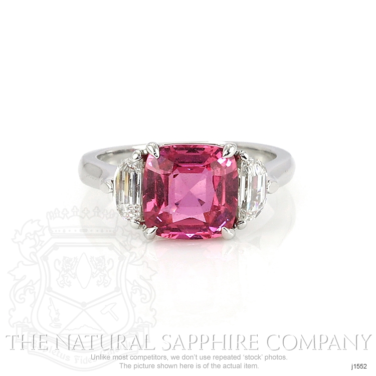 3.88ct Pink Sapphire Ring Image