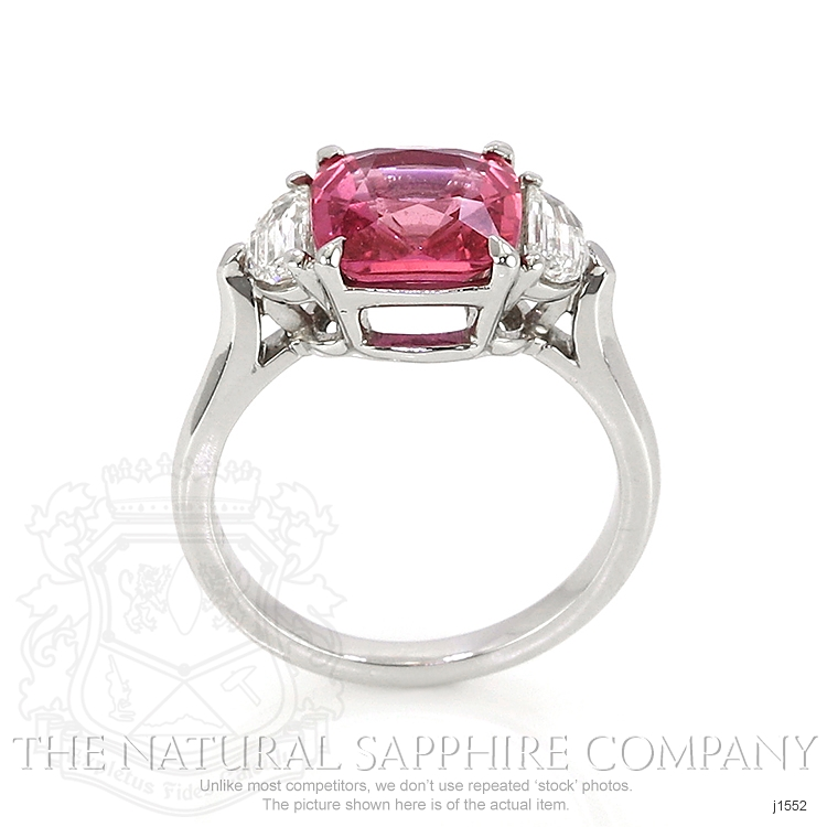 3.88ct Pink Sapphire Ring Image 4