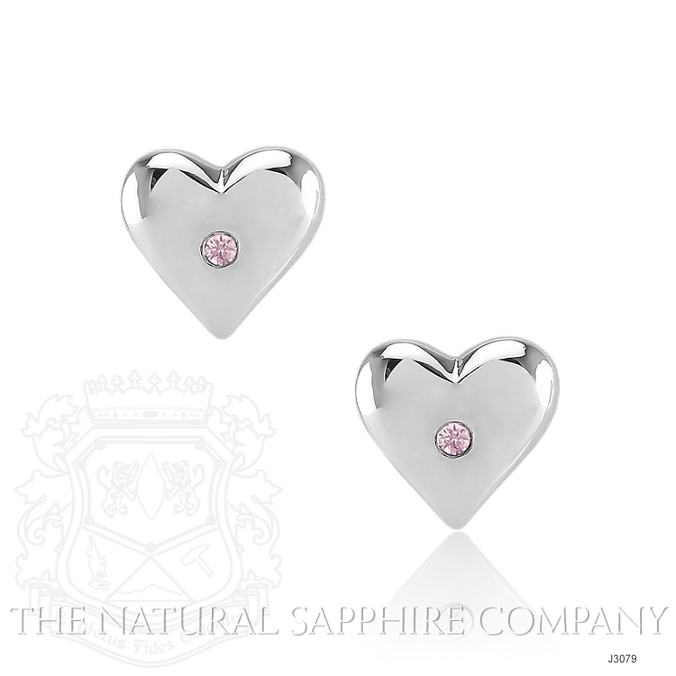 0.04ct Pink Sapphire Earring Image