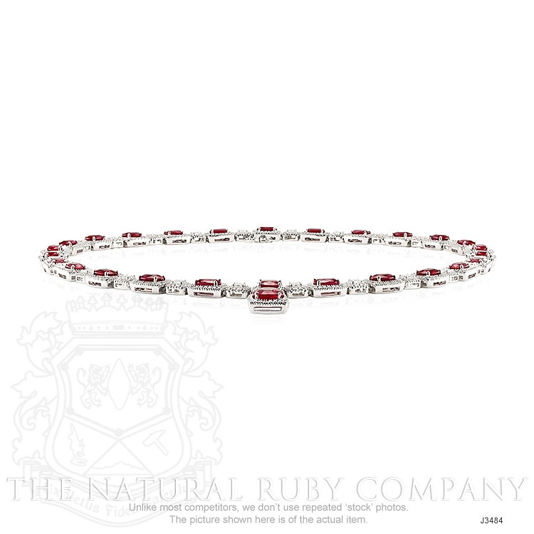 29.36ct Ruby Necklace Image 4