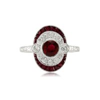 1.03ct Ruby Ring - J3674