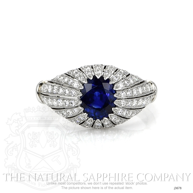 1.45ct Blue Sapphire Ring Image