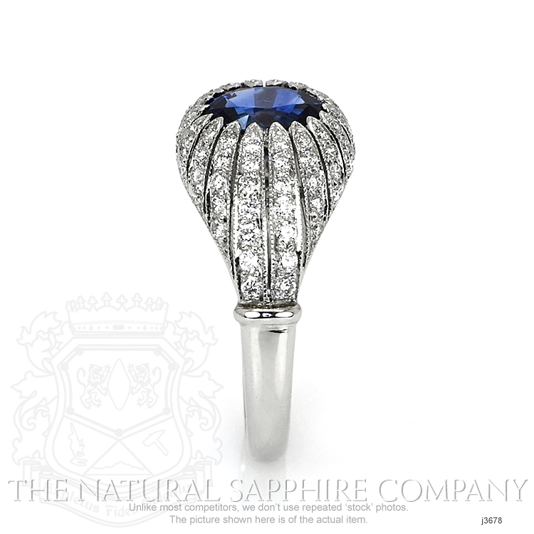 1.45ct Blue Sapphire Ring Image 3