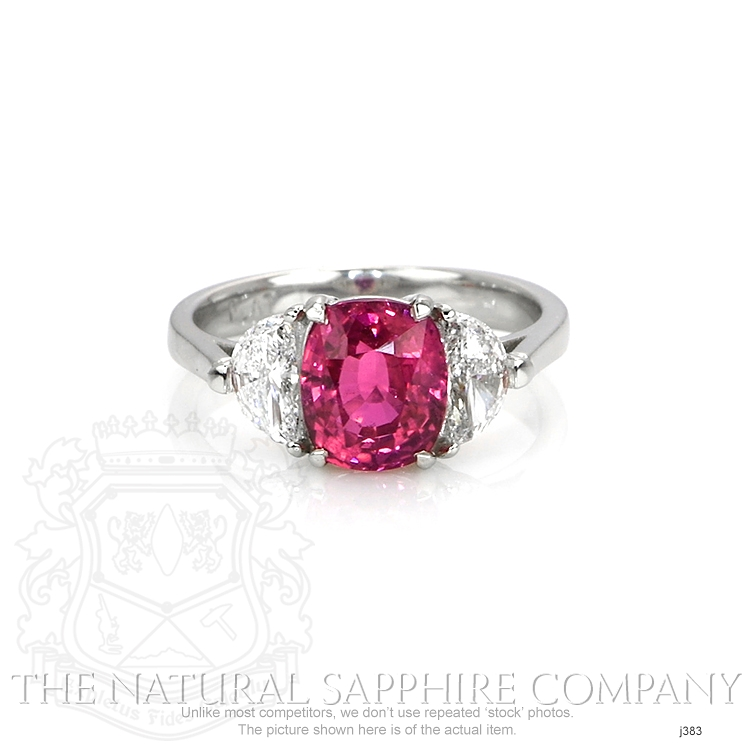3.21ct Pink Sapphire Ring Image