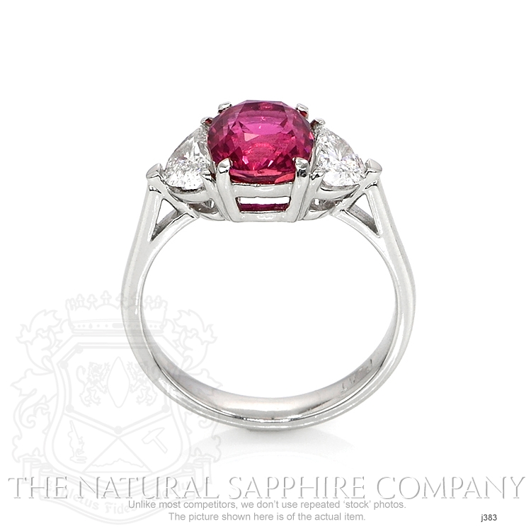 3.21ct Pink Sapphire Ring Image 4