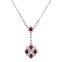 1.08ct Ruby Necklace - J3914