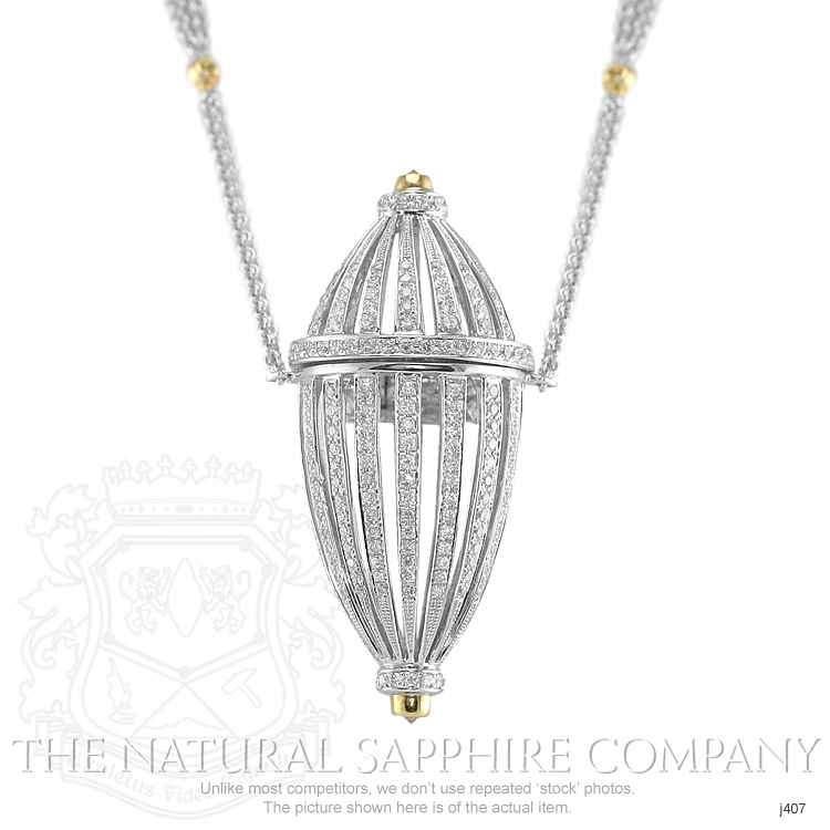 2.15ct White Diamond Necklace Image