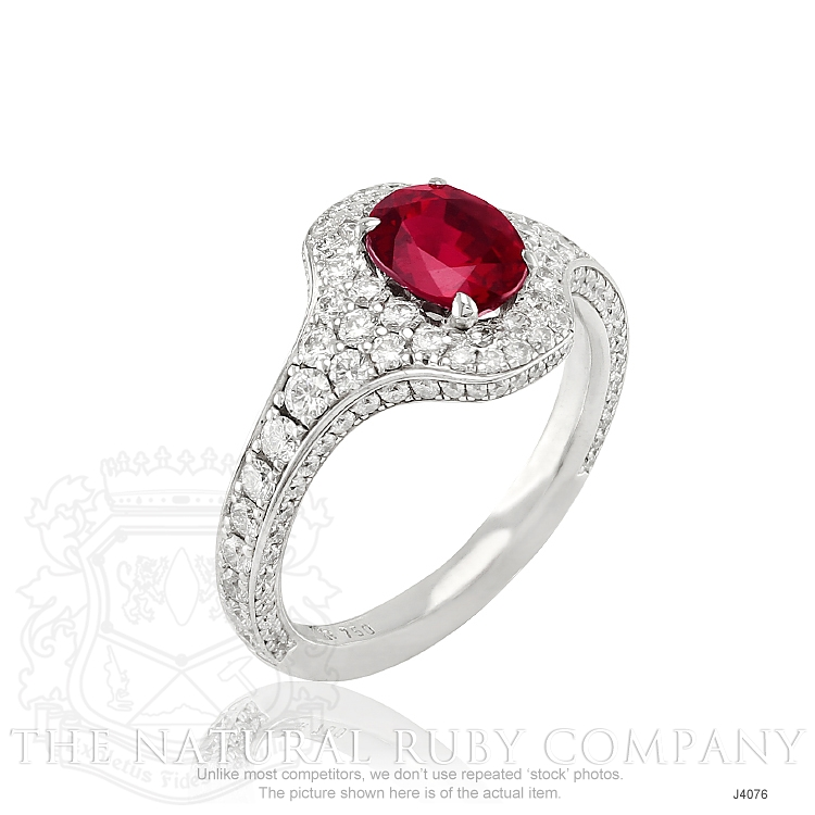 1.59ct Ruby Ring Image 2