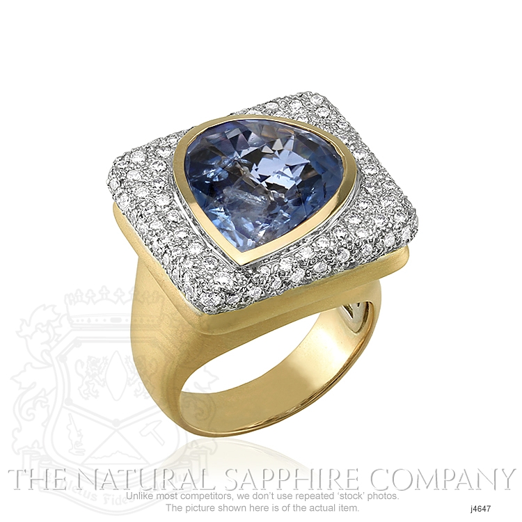 8.44ct Blue Sapphire Ring Image 2