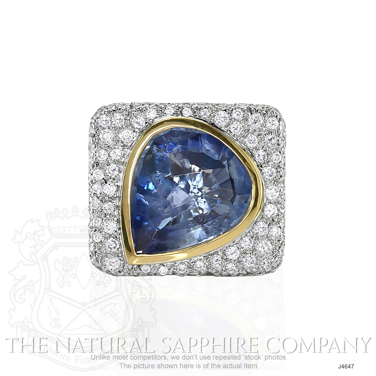 8.44ct Blue Sapphire Ring Image