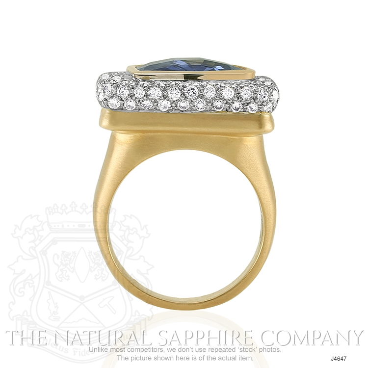 8.44ct Blue Sapphire Ring Image 4