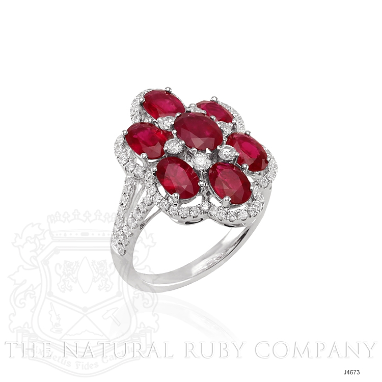 3.26ct Ruby Ring Image 2