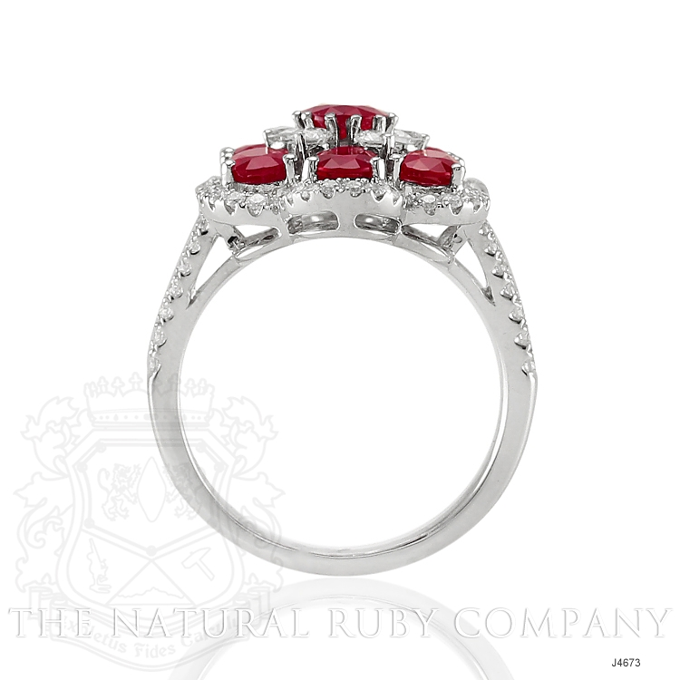 3.26ct Ruby Ring Image 4