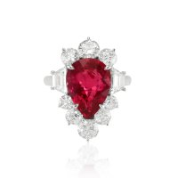 6.12ct Ruby Ring - J4674