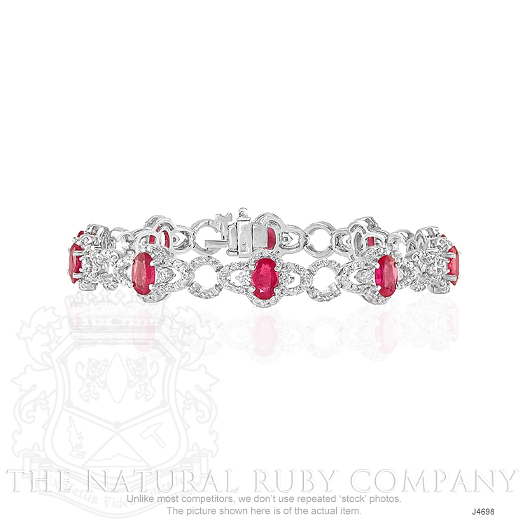 5.20ct Ruby Bracelet Image