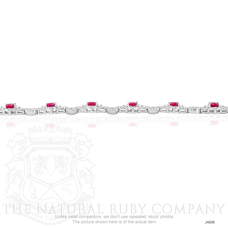 5.20ct Ruby Bracelet Image 3