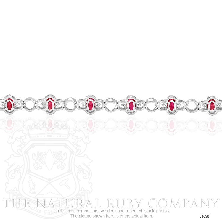 5.20ct Ruby Bracelet Image 4