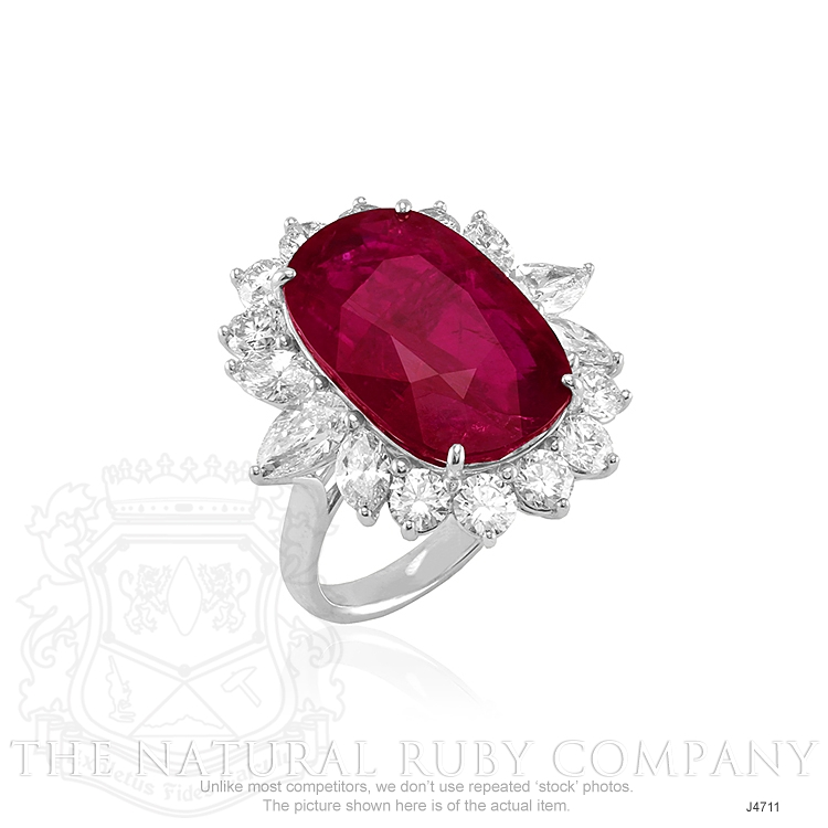16.67ct Ruby Ring Image 2